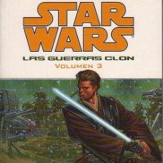 Cómics: STAR WARS: LAS GUERRAS CLON VOLUMEN # 3 (PLANETA DEAGOSTINI,2005) - CLONE WARS. Lote 70467209
