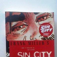 Cómics: FRANK MILLER - SIN CITY: IDA Y VUELTA AL INFIERNO. Lote 71539891