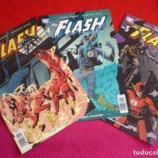 Cómics: THE FLASH VOL. 1 NºS 3, 4 Y 5 ( GEOFF JOHNS ALBERTO DOSE ) ¡COMO NUEVOS! DC PLANETA 2006. Lote 71975563