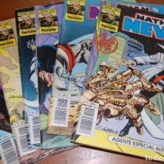 Cómics: LOTE NATHAN NEVER Nº 1 - 2 - 3 - 4 - 5 Y 8. FORUM COMICS SERIE ORO. AÑO 1992. Lote 72098587