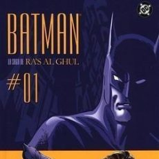 Cómics: BATMAN LA SAGA DE RAS ALGHUL NEAL ADAMS . Lote 72599595