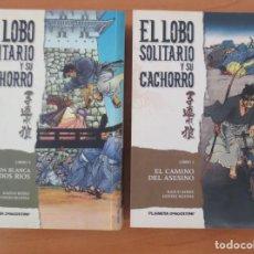 Cómics: EL LOBO SOLITARIO Y SU CACHORRO 1 Y 2. Lote 74241199