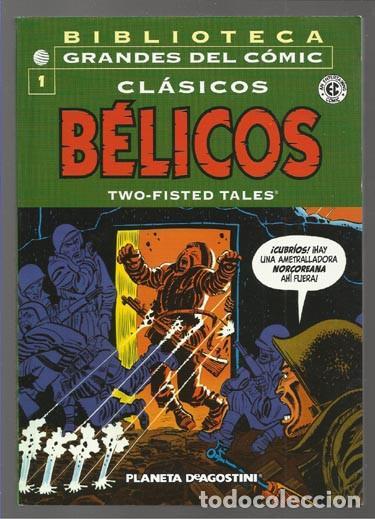 BIBLIOTECA GRANDES DEL CÓMIC: CLÁSICOS BÉLICOS 1, 2004, IMPECABLE. (Tebeos y Comics - Planeta)