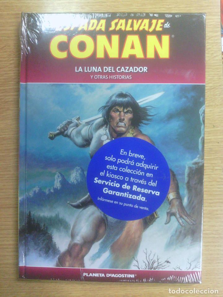 ESPADA SALVAJE DE CONAN COLECCIONABLE #64 LA LUNA DEL CAZADOR Y OTRAS HISTORIAS (Tebeos y Comics - Planeta)