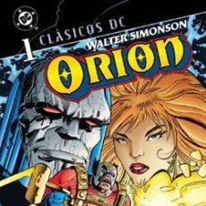 Cómics: CLÁSICOS DC: ORION DE WALTER SIMONSON NºS 1 A 4. Lote 147786944