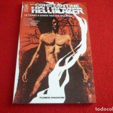 Cómics: HELLBLAZER LA TIERRA DONDE VAN LOS MUERTOS ( MIKE CAREY LEONARDO MANCO ) PLANETA VERTIGO 176 PAGS DC. Lote 76449207