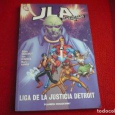 Cómics: JLA CLASIFICADO 4 LIGA DE LA JUSTICIA DETROIT ( STEVE ENGLEHART DERENICK ) ¡BUEN ESTADO! PLANETA DC . Lote 76837447