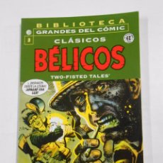 Cómics: BIBLIOTECA GRANDES DEL COMIC. CLASICOS BELICOS. Nº 3. TWO-FISTED TALES. PLANETA. TDKC21. Lote 137379029