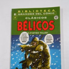 Cómics: BIBLIOTECA GRANDES DEL COMIC. CLASICOS BELICOS. Nº 2. TWO-FISTED TALES. PLANETA. TDKC21. Lote 137379053