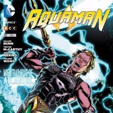Cómics: AQUAMAN Nº 12 NUEVO UNIVERSO DC NUDC ECC EDITORES - CULLEN BUNN TREVOR MCCARTHY. Lote 78315237