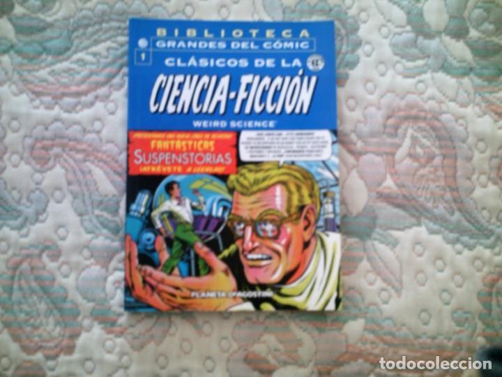 CLASICOS DE LA CIENCIA FICCION (WEIRD SCIENCE) Nº 1 (BIBLIOTECA GRANDES DEL COMIC) (Tebeos y Comics - Planeta)