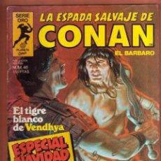 Cómics: COMIC . LA ESPADA SALVAJE DE CONAN .Nº 46 ESPECIAL NAVIDAD VER FOTO QUE NO TE FALTE EN TU COLECCION. Lote 78992209