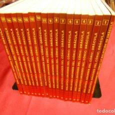 Cómics: BIBLIOTECA GRANDES DEL CÓMIC. DRÁCULA. COLECCIÓN COMPLETA 18 TOMOS + 1 EXTRA. PLANETA.. Lote 79022125