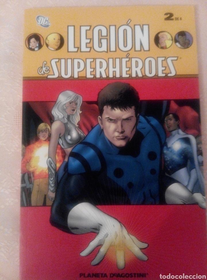 LEGIÓN DE SUPERHÉROES. Nº 2 DE 4 TOMOS. -DC. PLANETA- (Tebeos y Comics - Planeta)