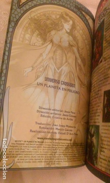 Cómics: MYSTIC -UN PLANETA EN PELIGRO + AMOR Y DESTRUCCIÓN- UNIVERSO CROSSGEN (LOTE 2 COMICS) - Foto 3 - 89094938