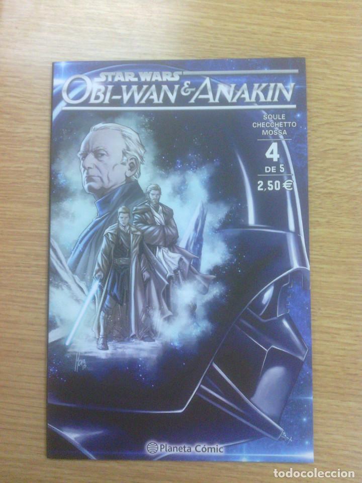 STAR WARS OBI-WAN Y ANAKIN #4 (Tebeos y Comics - Planeta)