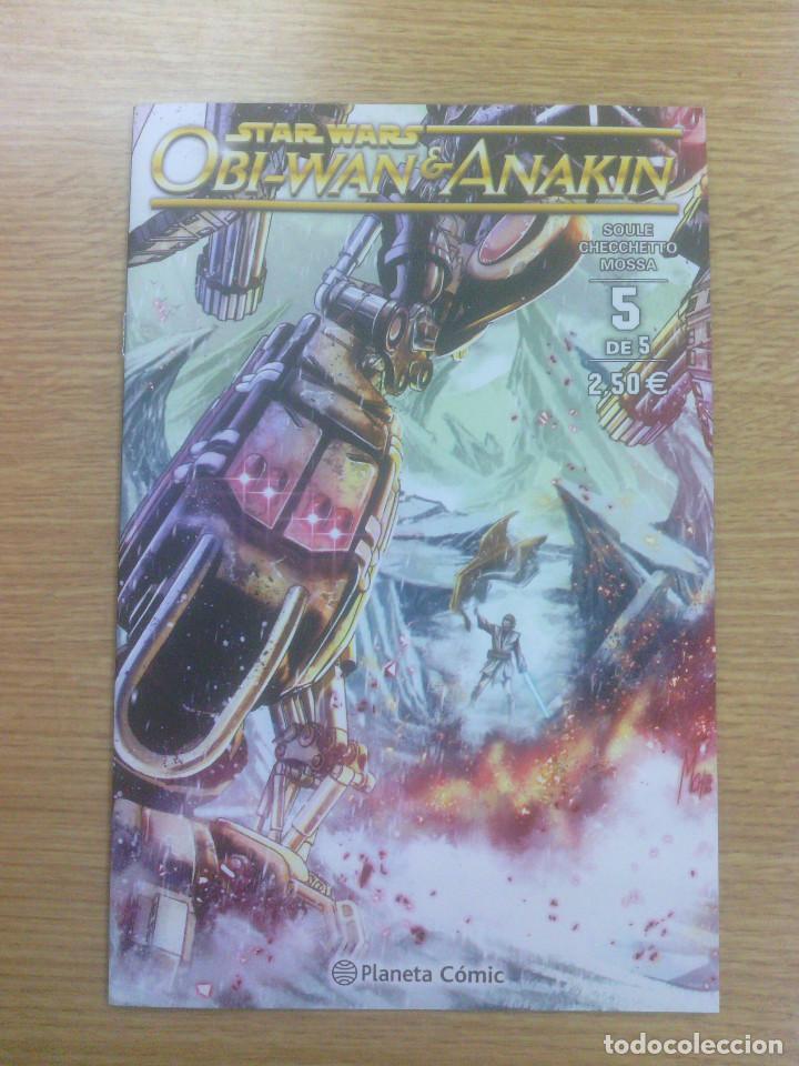 STAR WARS OBI-WAN Y ANAKIN #5 (Tebeos y Comics - Planeta)