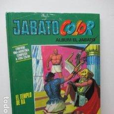Cómics: EL JABATO COLOR - ALBUM Nº 16 - EL TEMPLO DE RA -TOMO TAPA DURA- (PLANETA, NUEVO Y PRECINTADO). Lote 81010256