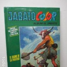 Cómics: EL JABATO COLOR - ALBUM Nº 8 - EL SIGNO DE LA PANTERA - TOMO TAPA DURA - (PLANETA, NUEVO ) . Lote 81010552
