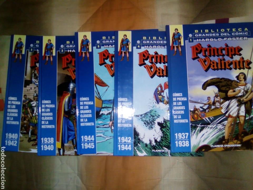 PRINCIPE VALIENTE PLANETA COMICS, 5 TOMOS 1 AL 5 (Tebeos y Comics - Planeta)