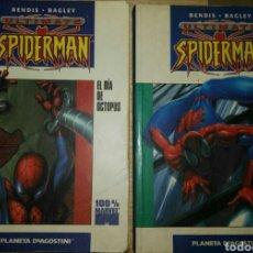 Cómics: ULTIMATE SPIDERMAN ORIGENES Y EL DIA DE OCTOPUS. Lote 81796058