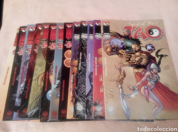 SPIRIT OF THE TAO -Nº 2 AL Nº 14- TOP COW .PLANETA (Tebeos y Comics - Planeta)