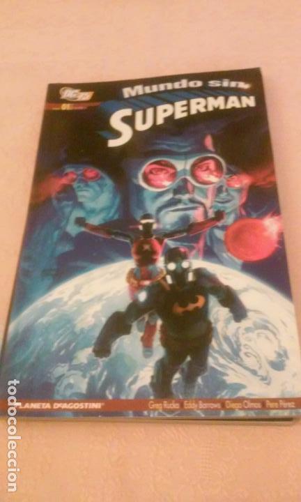 MUNDO SIN SUPERMAN TOMO 1 - (PLANETA DEAGOSTINI-DC) (Tebeos y Comics - Planeta)