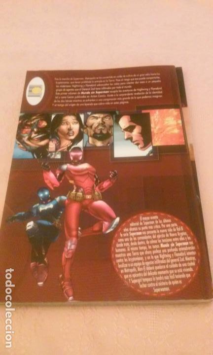 Cómics: MUNDO SIN SUPERMAN TOMOS 1 - (PLANETA DEAGOSTINI-DC) - Foto 5 - 82266196