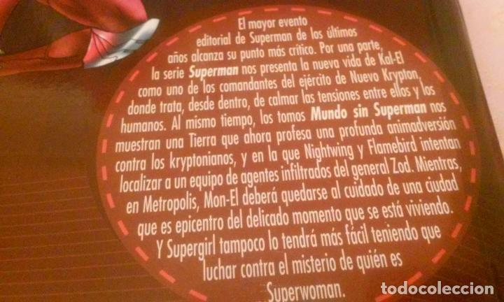 Cómics: MUNDO SIN SUPERMAN TOMOS 1 - (PLANETA DEAGOSTINI-DC) - Foto 7 - 82266196