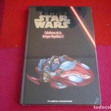 Cómics: STAR WARS CABALLEROS DE LA ANTIGUA REPUBLICA 5 ¡PRECINTADO! COLECCIONABLE PLANETA 17 TAPA DURA. Lote 82746624