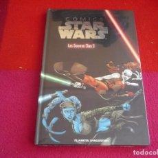 Cómics: STAR WARS LAS GUERRAS CLON 3 ¡PRECINTADO! COLECCIONABLE COMIC PLANETA 22 TAPA DURA. Lote 82746796