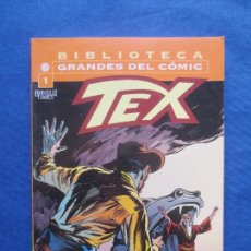 Cómics: BIBLIOTECA GRANDES DEL CÓMIC - TEX N.º 1 - PLANETA - BONELLI COMICS - FORMATO TACO. Lote 82831556