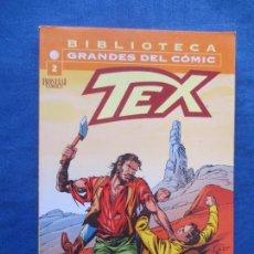 Comics : BIBLIOTECA GRANDES DEL CÓMIC - TEX N.º 2 - PLANETA - BONELLI COMICS - FORMATO TACO - DESCATALOGADO. Lote 82831752