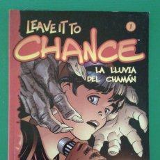 Cómics: LEAVE IT TO CHANCE 1: LA LLUVIA DEL CHAMÁN, DE JAMES ROBINSON Y PAUL SMITH. Lote 86235620