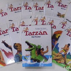 Cómics: TARZÁN. BURNE HOGARTH. 18 VOLUMENES. BIBLIOTECA DEL COMIC. PLANETA DE AGOSTINI. PERFECTO ESTADO. Lote 86333972