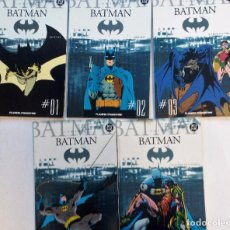 Cómics: BATMAN LOTE DE LOS 5 PRIMEROS NÚMEROS PLANETA DEAGOSTINI C2005 DC SIN USO VER FOTOGRAFÍAS. Lote 86688796
