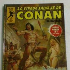 Cómics: COMIC PLANETA SERIE ORO - LA ESPADA SALVAJE DE CONAN EL BARBARO Nº1 - 1º EDICION 1982. Lote 87207616