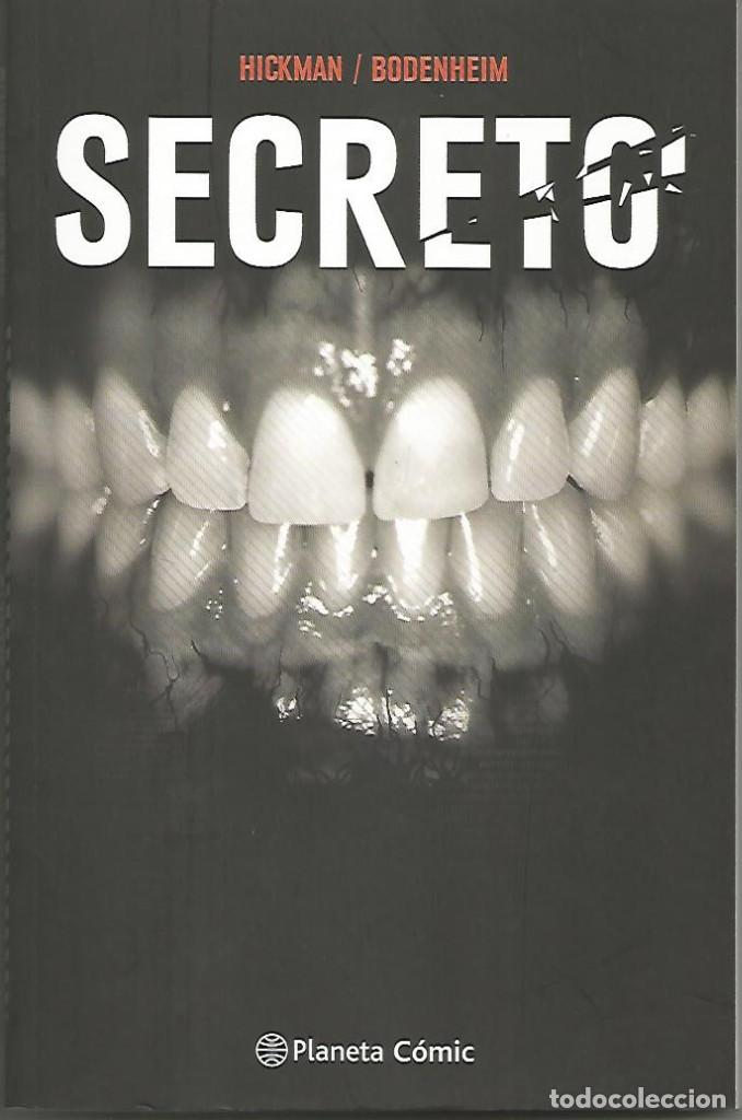 SECRETO Nº01 JONATHAN HICKMAN | RYAN BODENHEIM PLANETA CÓMIC (Tebeos y Comics - Planeta)