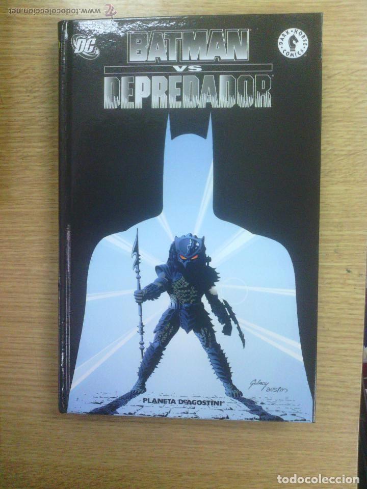BATMAN VS. VERSUS DEPREDADOR PREDATOR (PLANETA DEAGOSTINI) INTEGRAL TAPA DURA (Tebeos y Comics - Planeta)