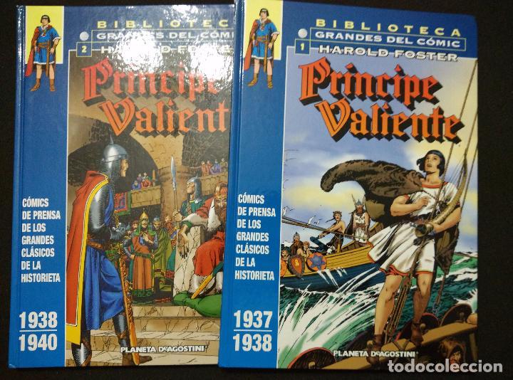 PRÍNCIPE VALIENTE. TOMOS 1 Y 2. PLANETA (Tebeos y Comics - Planeta)