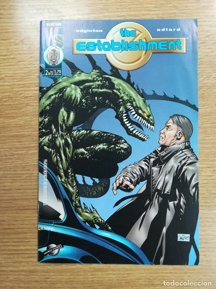 THE ESTABLISHMENT #2 (Tebeos y Comics - Planeta)