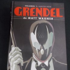 Cómics: GRENDEL - VOLUMEN 1 - HUNTER ROSE - MATT WAGNER - PLANETA -. Lote 90526100