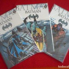 Cómics: BATMAN COLECCIONABLE 7, 8 Y 9 ESPADA DE AZRAEL VENGANZA DE BANE ¡MUY BUEN ESTADO! PLANETA DC. Lote 90935355