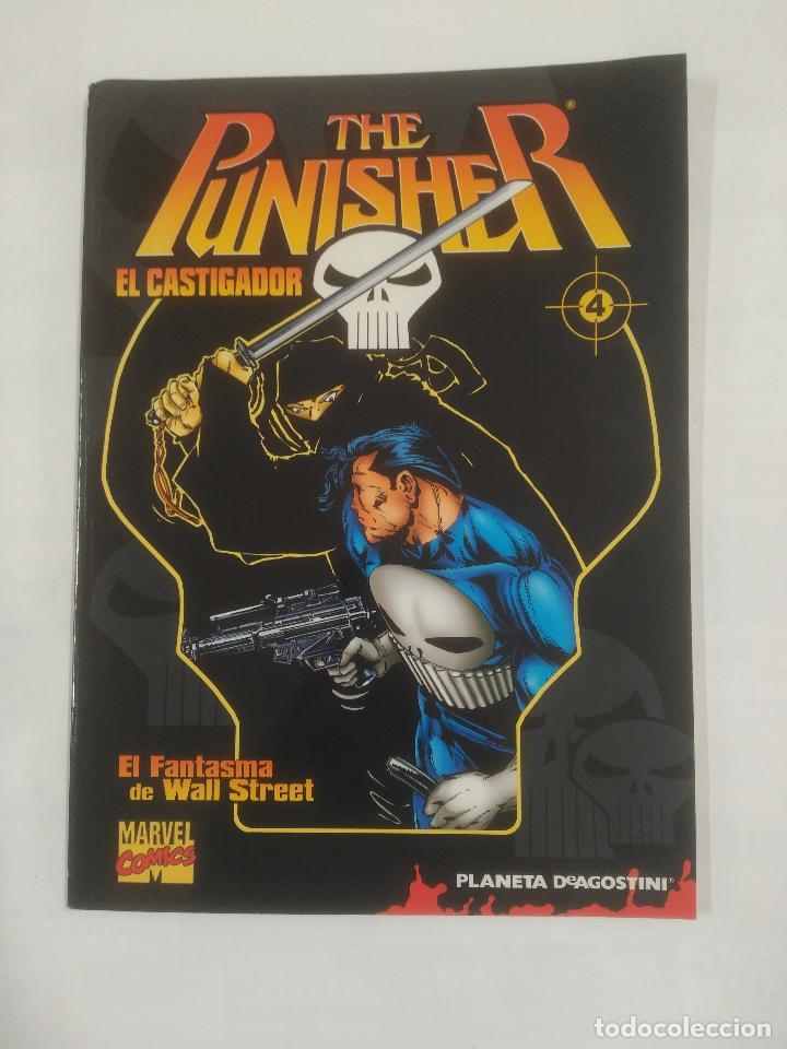 THE PUNISHER Nº 4 EL CASTIGADOR. EL FANTASMA DE WALL STREET. MARVEL COMICS PLANETA. TDKC4 (Tebeos y Comics - Planeta)