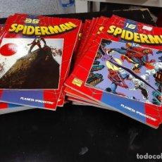 Cómics: SPIDERMAN COLECCIONABLE / LOTE DE 43 NÚMEROS / MARVEL - PLANETA . Lote 92007105