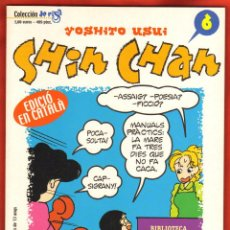 Cómics: YOSHITO USUI - SHIN CHAN Nº 6 (CATALAN). Lote 92255740