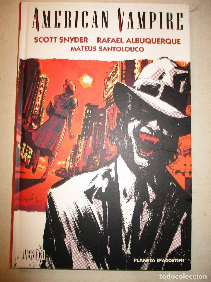 AMERICAN VAMPIRE-PLANETA-TAPA DURA-ITALIANO (Tebeos y Comics - Planeta)