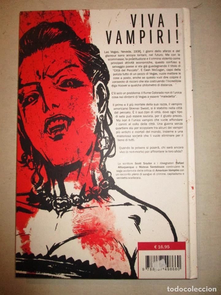 Cómics: AMERICAN VAMPIRE-PLANETA-TAPA DURA-ITALIANO - Foto 2 - 92325275