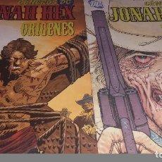 Cómics: GÉNEROS DC JONAH HEX 3 TOMITOS ROSTRO DE LA VIOLENCIA ARMAS DE VENGANZA Y ORIGENES -PLANETA. Lote 92465895