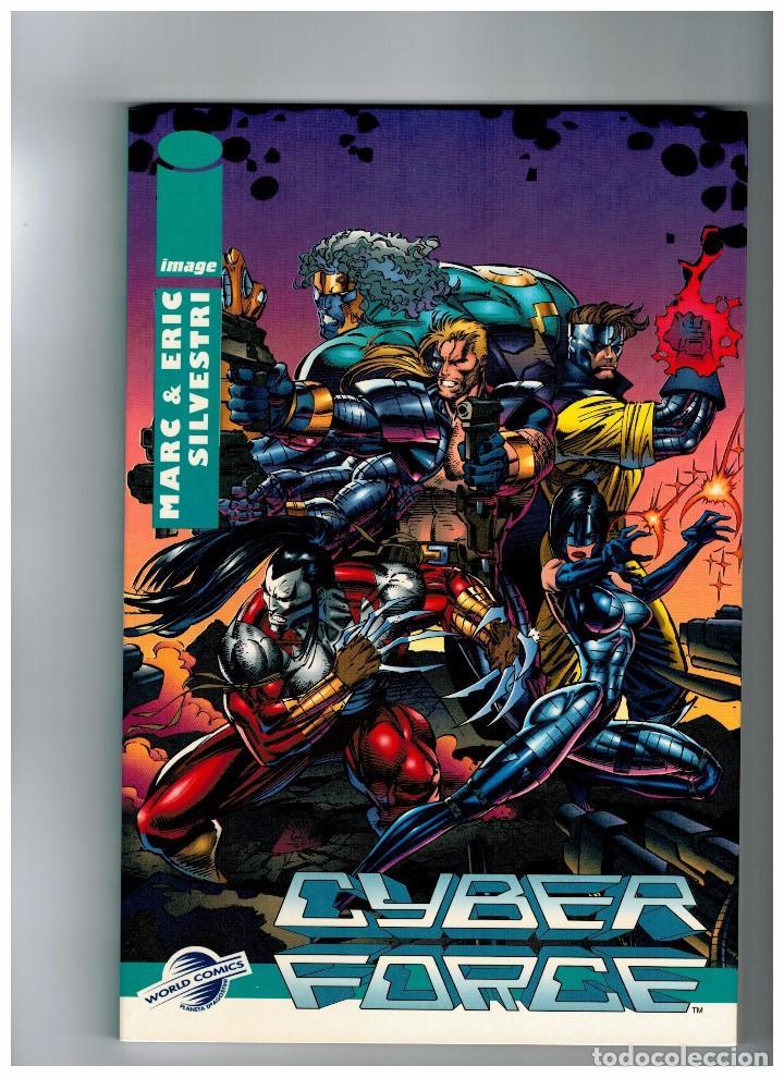 CYBER FORCE -COLECCIÓN LIBROS IMAGE Nº 2- NUEVO (Tebeos y Comics - Planeta)